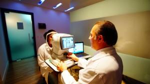 microscopia especular de cornea exame